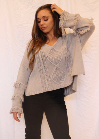 HUNTER CHUNKY SWEATER