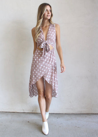 DIXIE POLKA-DOT DRESS