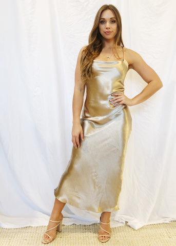 MAIDEN SATIN DRESS