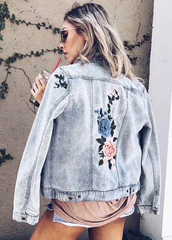 TWO LIPS DENIM JACKET