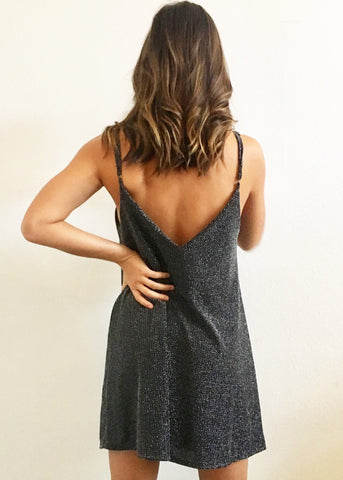 SPARKLE HOLIDAY SWING DRESS