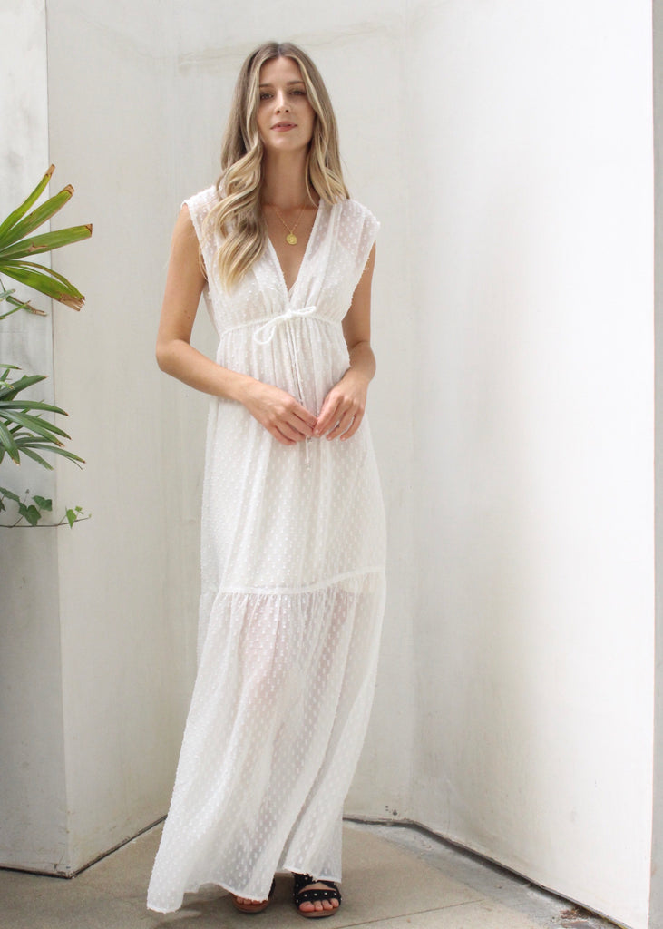 ANGEL MAXI DRESS - JD LUXE