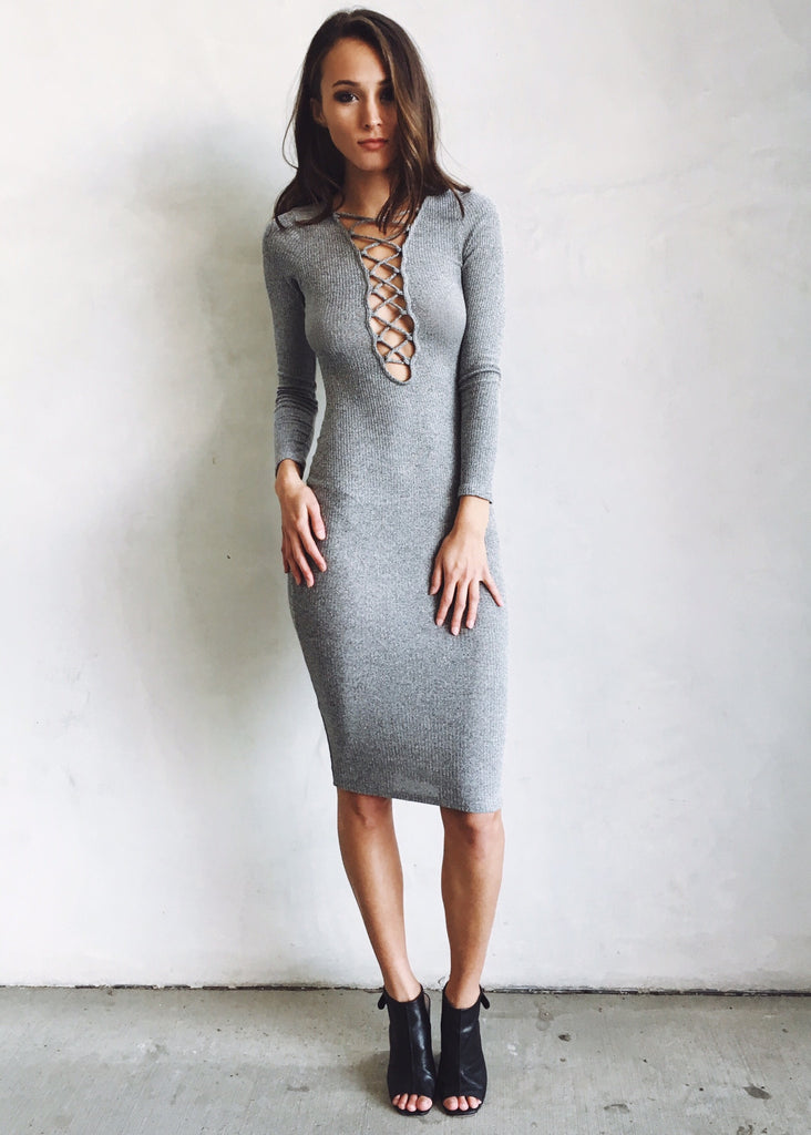 INSIGHT BODYCON DRESS - JD LUXE