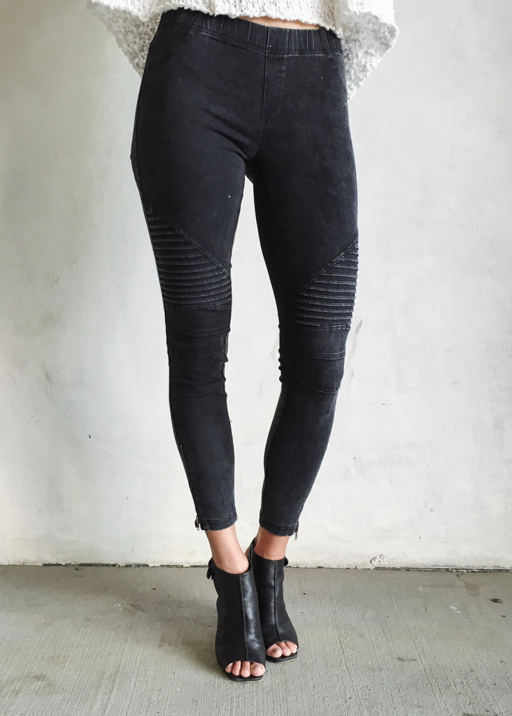 MOTO JEGGINGS - JD LUXE