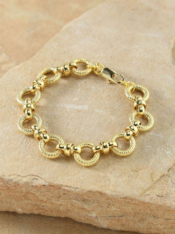 14K GOLD - SECRET BOX HEX HOOPS