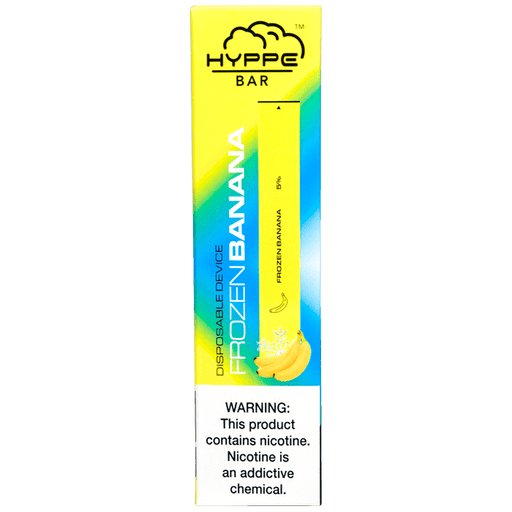 Hyppe Bar Disposable Vape Bars - Frozen Banana