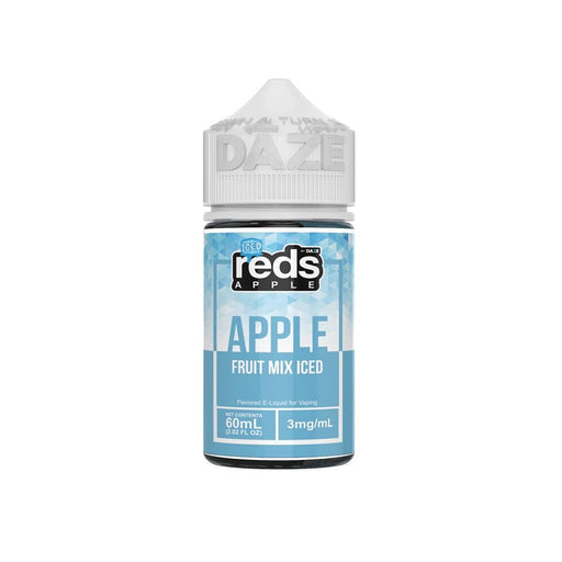 7 Daze Vape Juice - Red's Apple Fruit Mix Iced