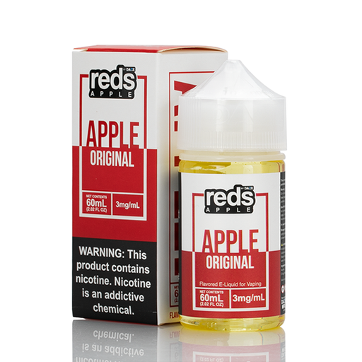 7 Daze Vape Juice - Red's Original Apple
