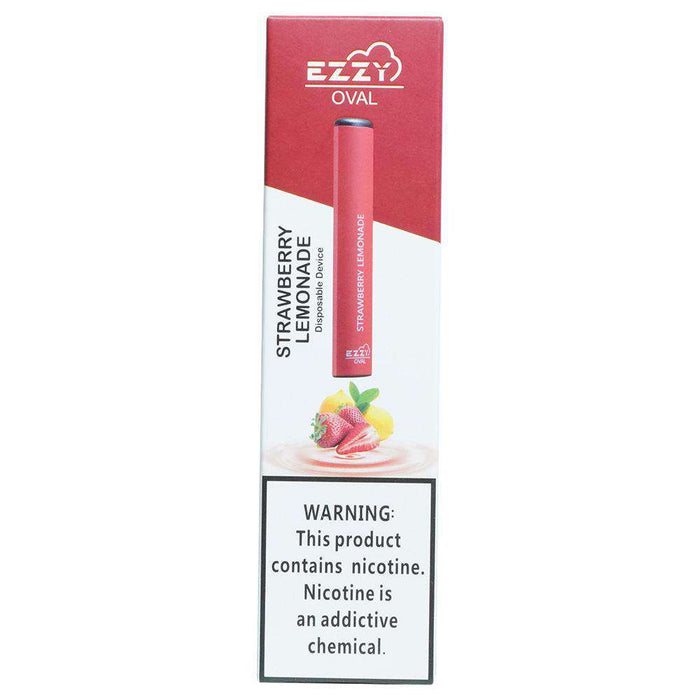 Ezzy Oval Disposable Vape Pen - Strawberry Lemonade