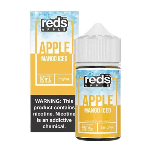 7 Daze Vape Juice - Red's Apple Mango Iced
