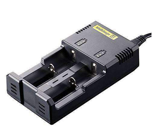 Nitecore i2 Battery Charger-2 Bay - VapeTen.com  - 2