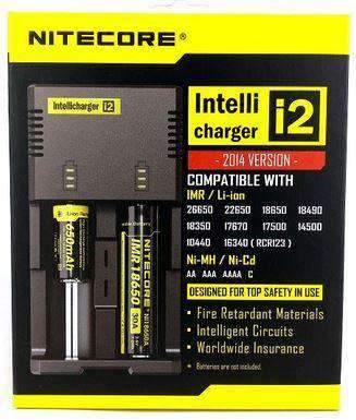 Nitecore i2 Battery Charger-2 Bay - VapeTen.com  - 1