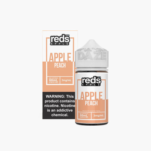 7 Daze Vape Juice - Red's Apple Peach