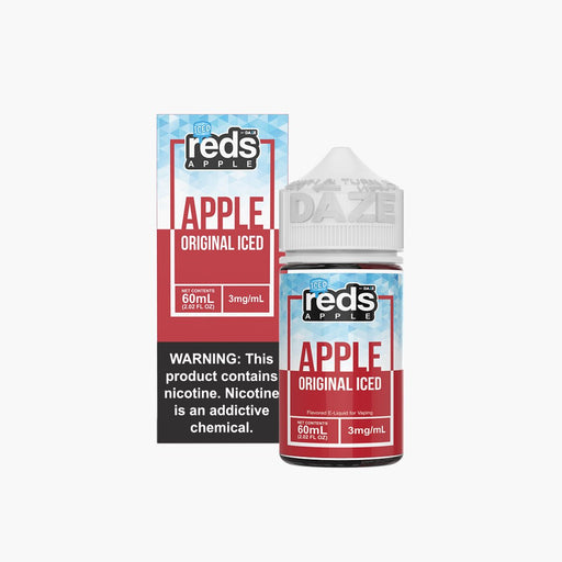 7 Daze Vape Juice - Red's Original Apple Iced