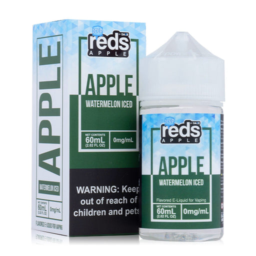 7 Daze Vape Juice - Red's Apple Watermelon Iced