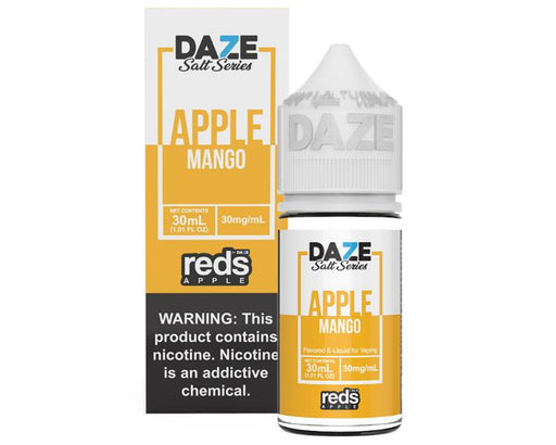 7 Daze Salt Series Vape Juice - Red's Apple Mango