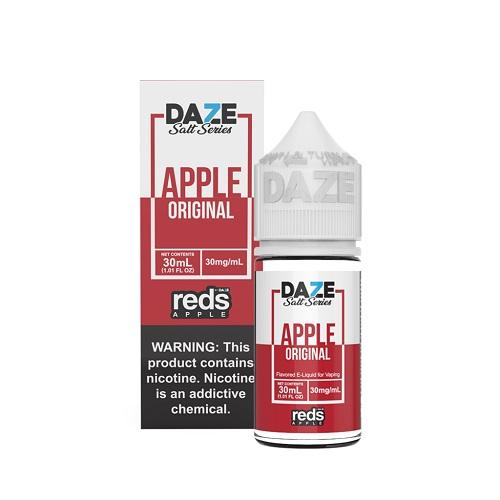 7 Daze Salt Series Vape Juice - Red's Apple Original
