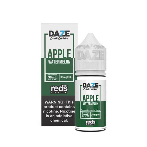7 Daze Salt Series Vape Juice - Red's Apple Watermelon