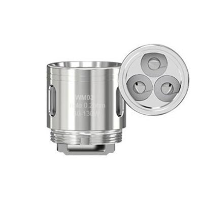 WISMEC Atomizer Head WM03 Triple (5 Pack)