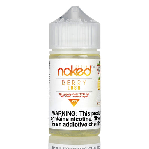 Naked 100 Cream Vape Juice - Pineapple Berry (Berry Lush)