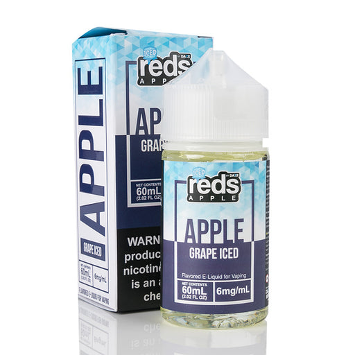 7 Daze Vape Juice - Red's Apple Grape Iced