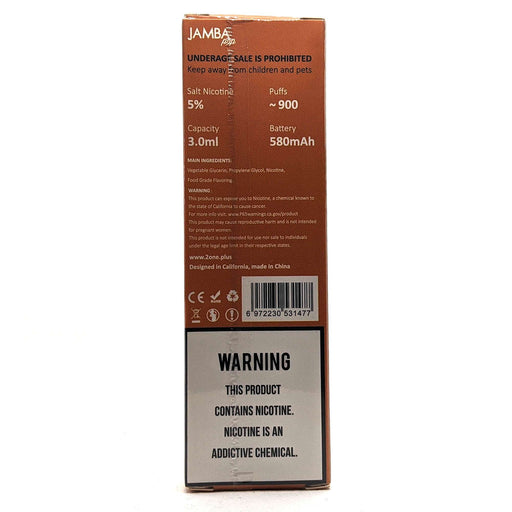 Jamba Pop Disposable Vape Pen - Orange Smoothie