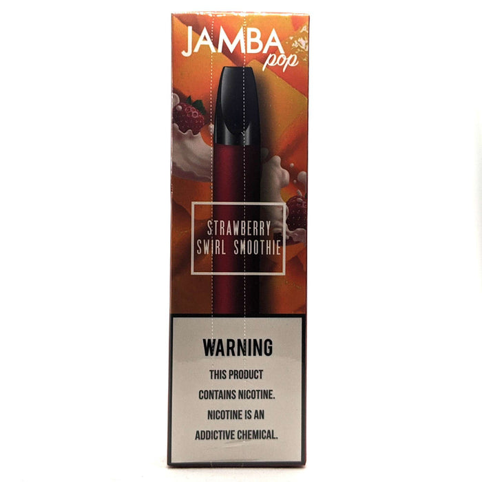 Jamba Pop Disposable Vape Bars - Strawberry Swirl Smoothie