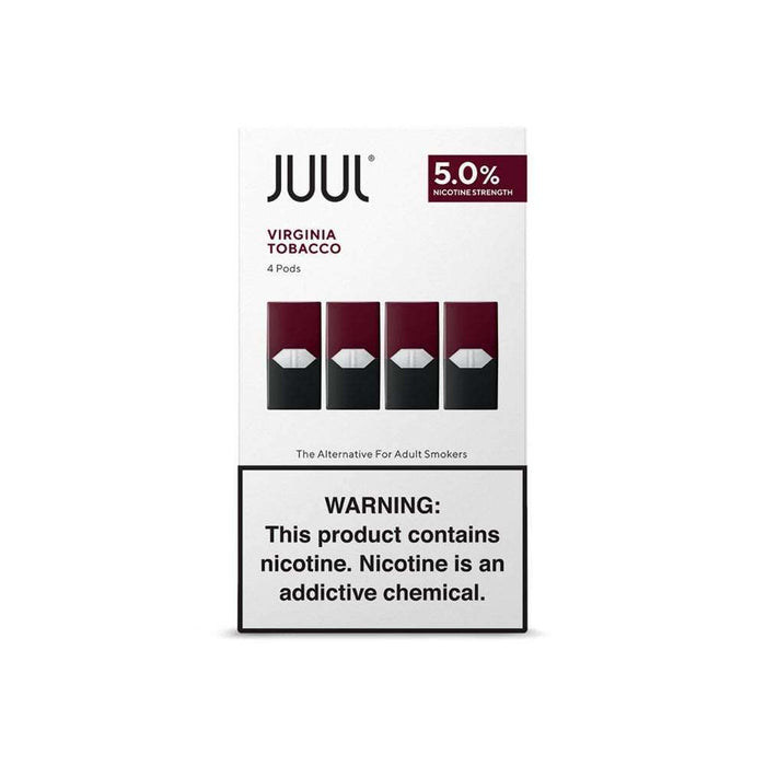 JUUL Pre-Filled Pods - Virginia Tobacco (4 Pack)