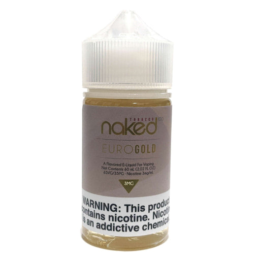 Naked 100 Tobacco Vape Juice - Euro Gold