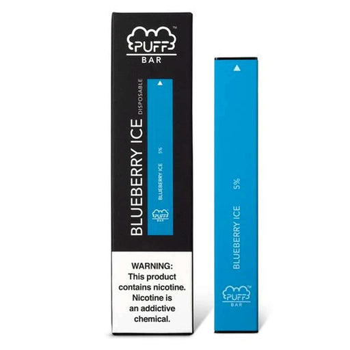Puff Bar Disposable Vape Bars - Blueberry Ice