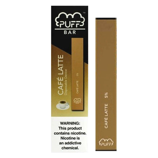 Puff Bar Disposable Vape Bars - Cafe Latte