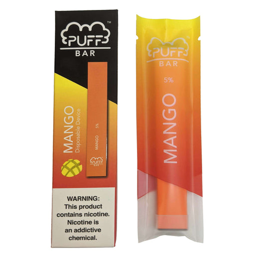 Puff Bar Disposable Vape Bars - Mango