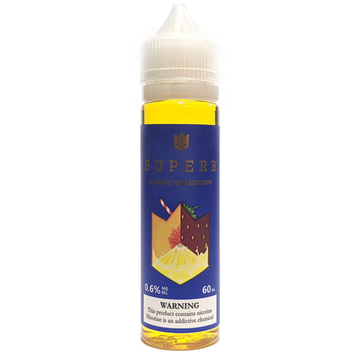 Superb Classic Collection Vape Juice Peachberry Lemonade