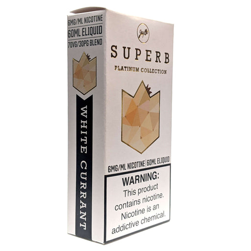 Superb Platinum Collection Vape Juice White Currant