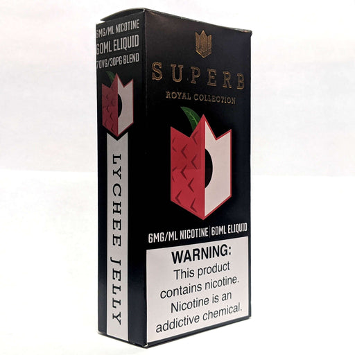 Superb Royal Collection Vape Juice Lychee Jelly