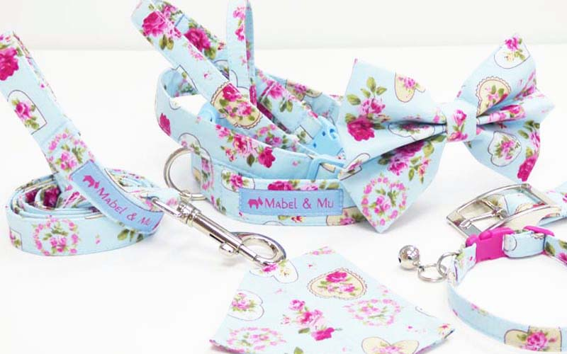 Designer Dog & Cat Collar Range Sweet Dream