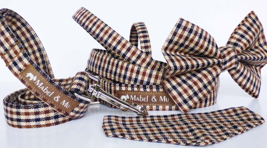 "Designer Dog Collar Range "" Lakeland Walks"" By Mabel & Mu"