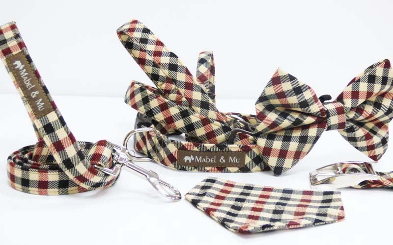 "Designer Dog & Cat Collar Range ""Windermere Walks"""