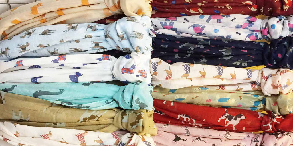 "Dog & Cat Print Scarves ""MASSIVE CLEAROUT"""
