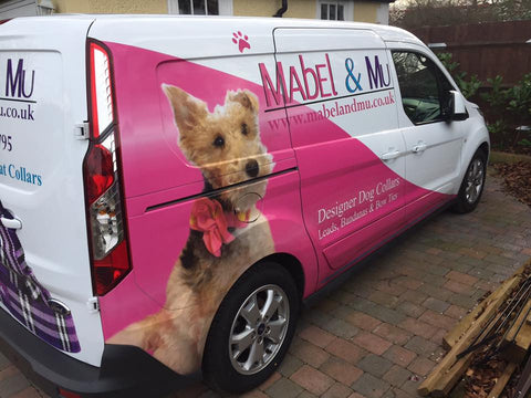 Mabel's Side of Mabel & Mu's Van