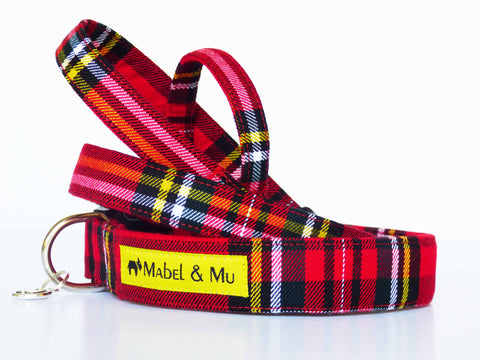 Highland Walks dog collar range by Mabel & Mu