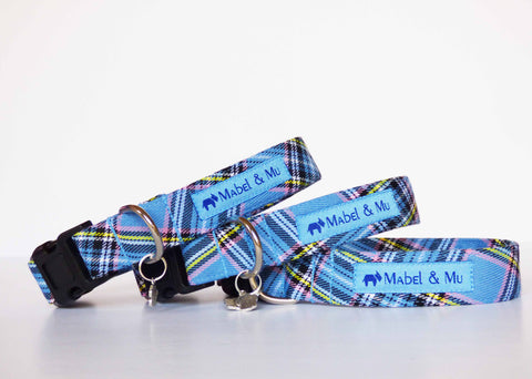 "Mabel & Mu ""Wildflower Walks"" Dog Leads and collars"