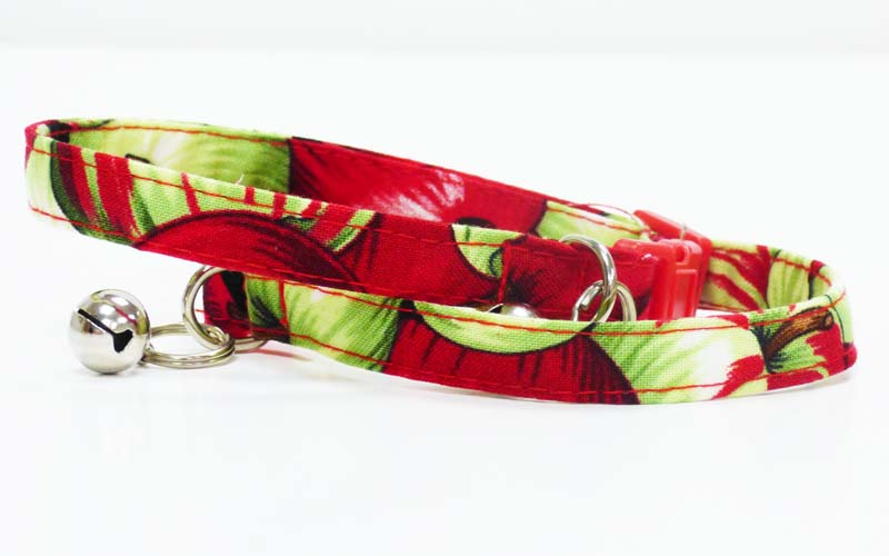 "Cat & Kitten Collar ""Apples' - Mabel & Mu"