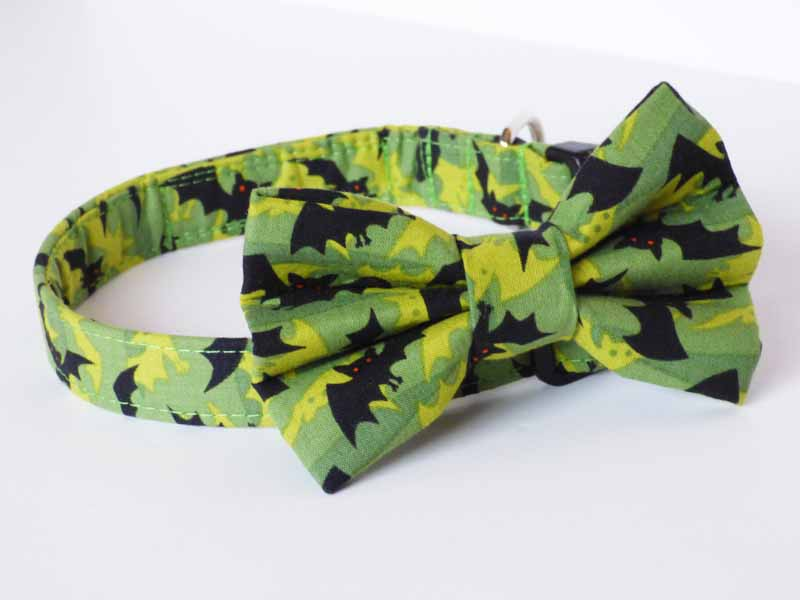 "Designer Dog & Cat Bow Tie ""Bat Cave"" by Mabel & Mu"