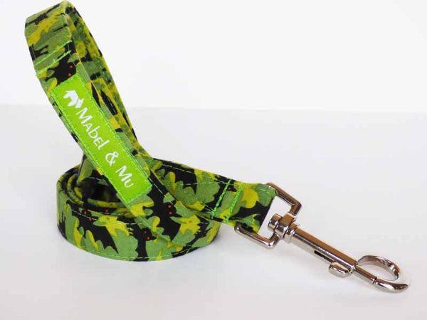 "Designer Dog Lead ""Bat Cave"" by Mabel & Mu"
