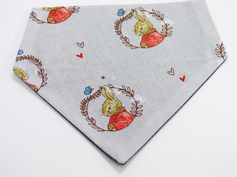 "Dog & Cat Bandana ""Flopsy Bunny in the lakes"" by Mabel & Mu"