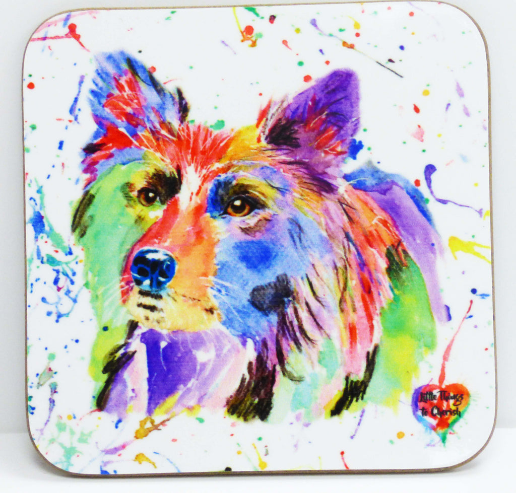 "Dog Coaster by ""Little things to Cherish"""