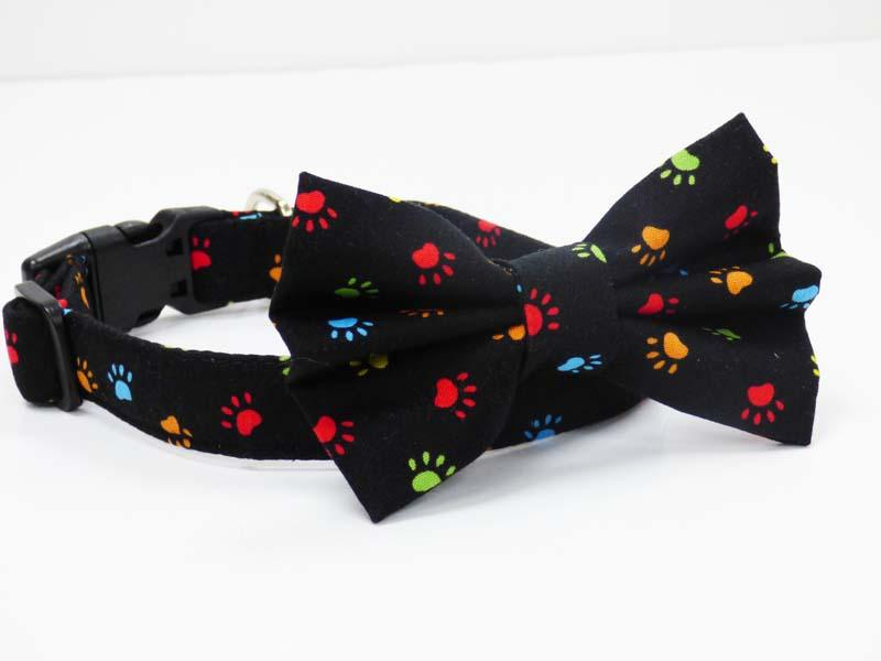 "Dog & Cat Bow Tie ""Paw-Some"" by Mabel & Mu"