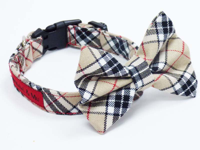 "Dog Bow Tie ""Designer Walks"" by Mabel & Mu"