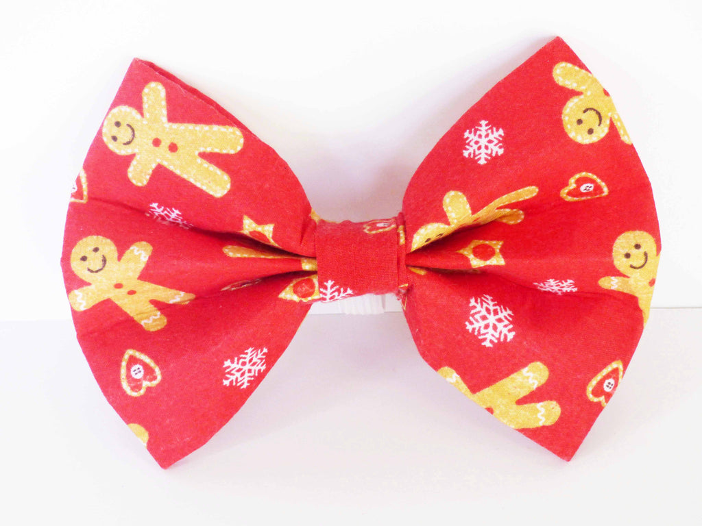 "Dog Collar Bow / Bow Tie  ""Ginger Yum"""